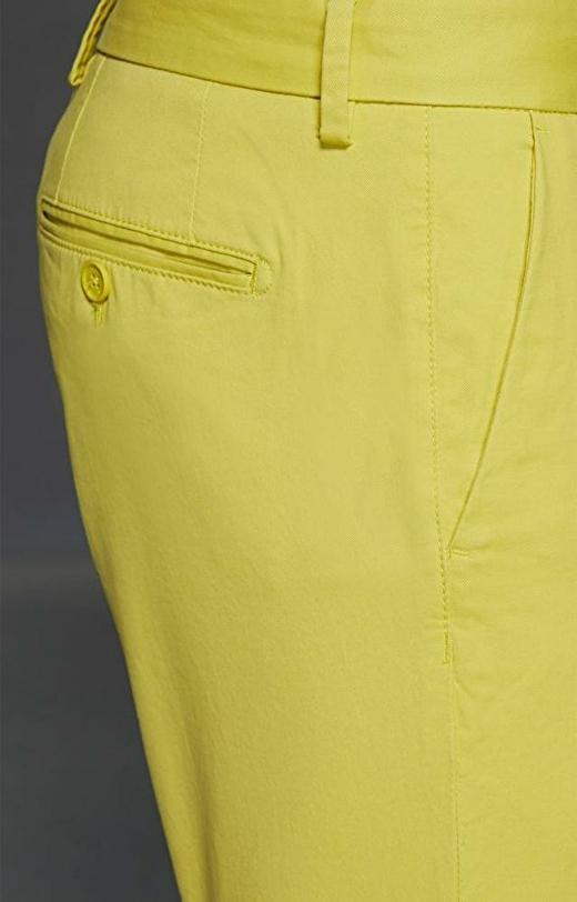 Żółte szorty WÓLCZANKA