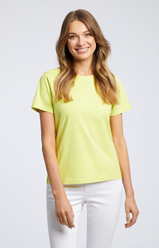Żółty t-shirt WÓLCZANKA