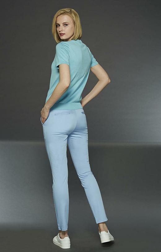 Niebieskie spodnie LAMBERT