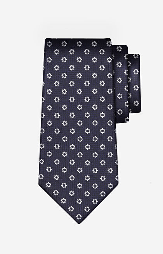 Czarny krawat LAMBERT