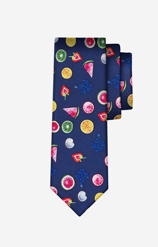 Wielokolorowy krawat LAMBERT