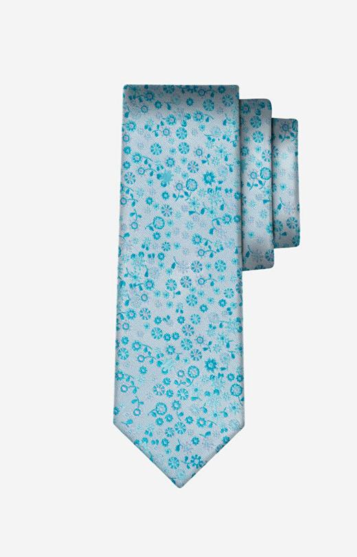 Zielony krawat WÓLCZANKA