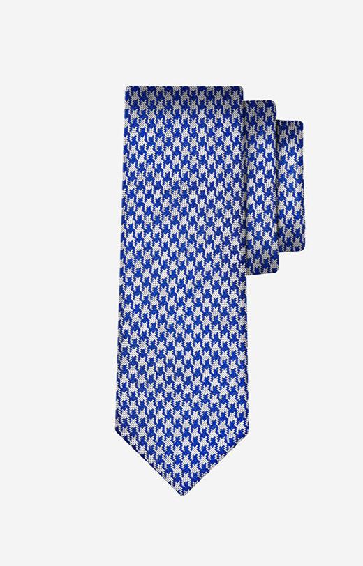 Niebieski krawat WÓLCZANKA