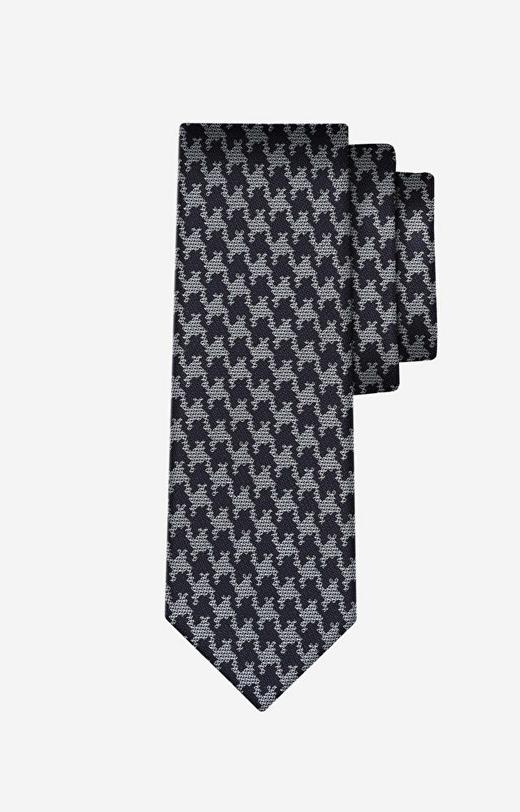Szary krawat LAMBERT