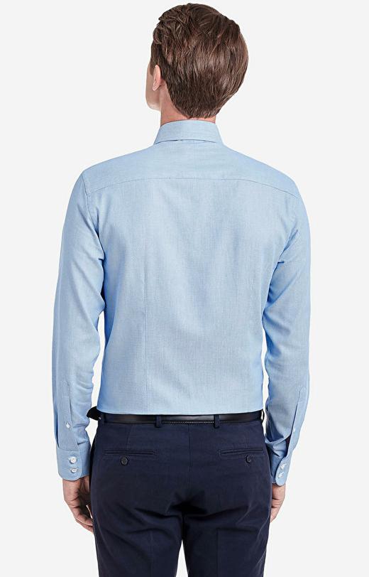 Niebieska koszula WÓLCZANKA
