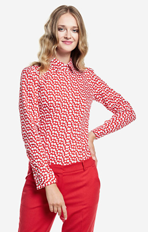 Czerwona koszula damska WÓLCZANKA