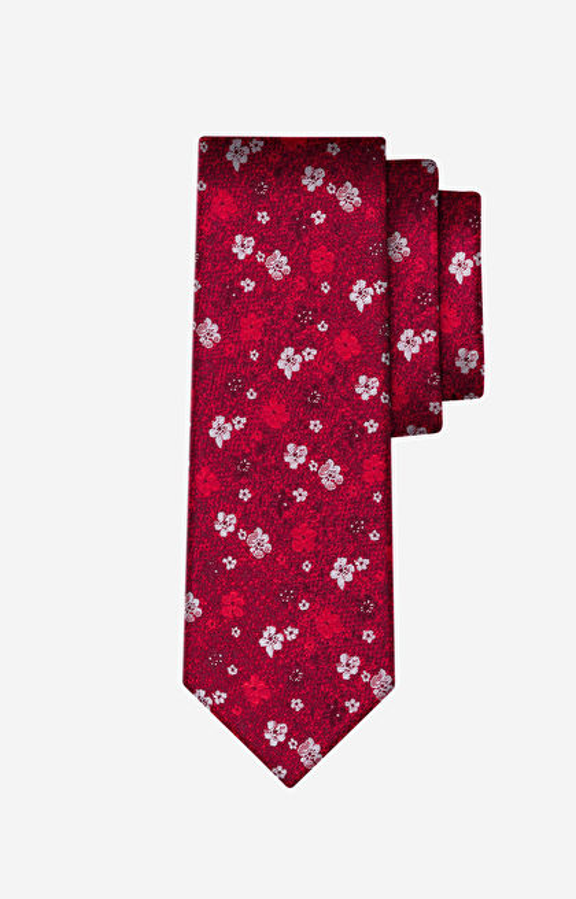 Czerwony krawat WÓLCZANKA