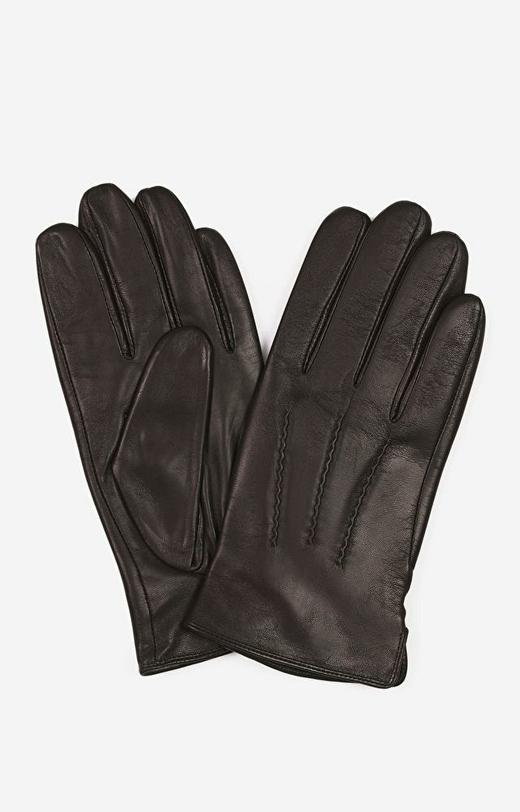 Brązowe rękawiczki LAMBERT