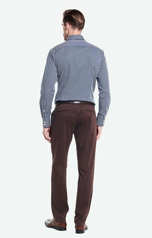 Brązowe spodnie WÓLCZANKA