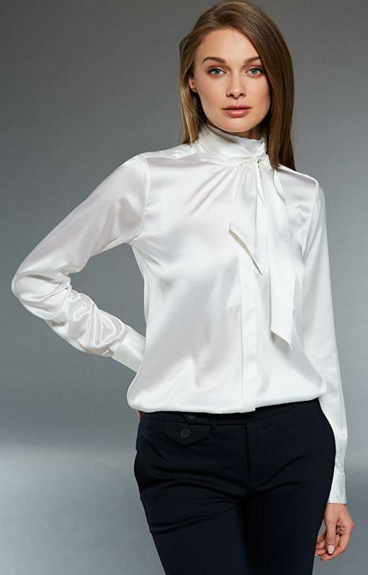Biała koszula damska LAMBERT