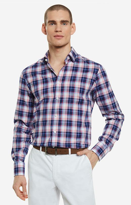 Wielokolorowa koszula LAMBERT