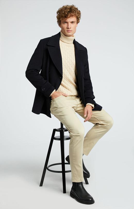 Bawełniane spodnie z kieszeniami