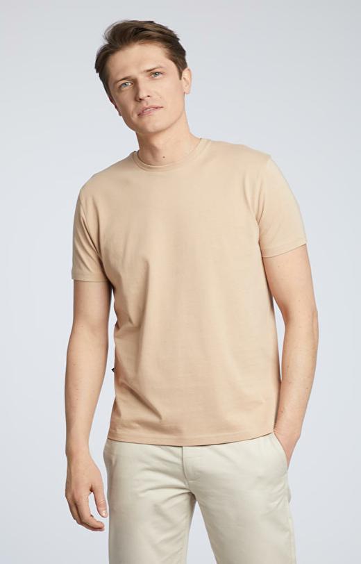 Beżowy t-shirt WÓLCZANKA