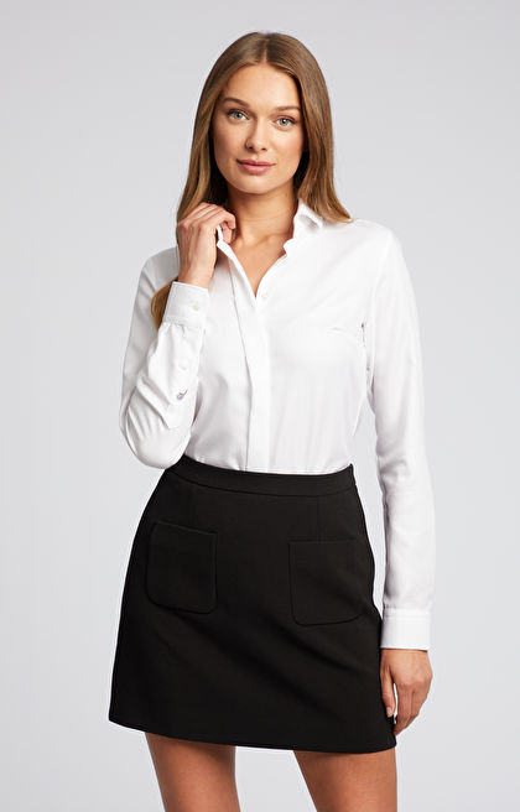 Elegancka koszula w jodełkę LAMBERT