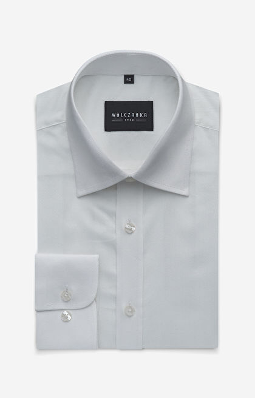 Biała koszula męska WÓLCZANKA