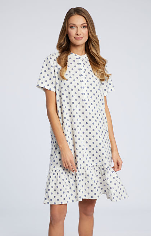 Biała sukienka WÓLCZANKA