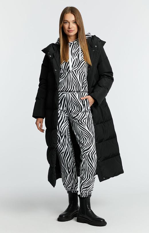 Spodnie dresowe we wzór zebry