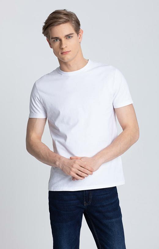 Biały t-shirt męski WÓLCZANKA