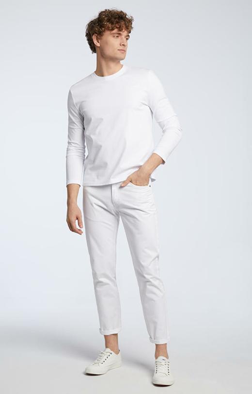 Biała koszulka z długim rękawem WÓLCZANKA