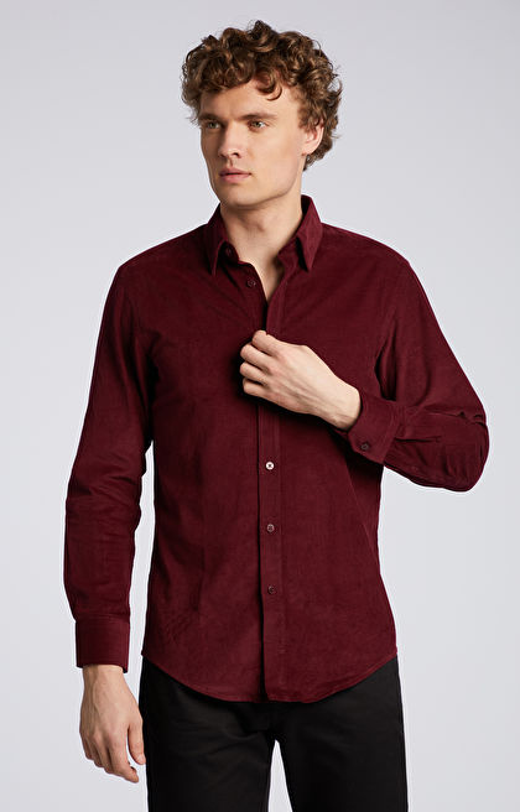Sztruksowa koszula