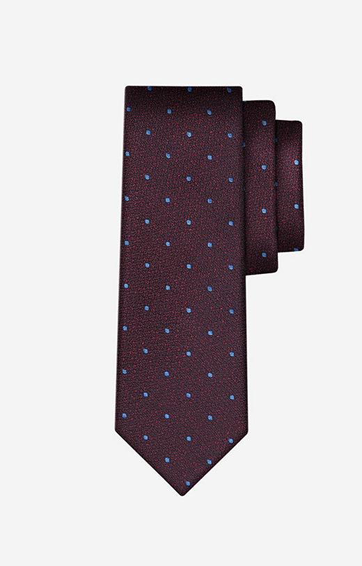 Bordowy krawat LAMBERT