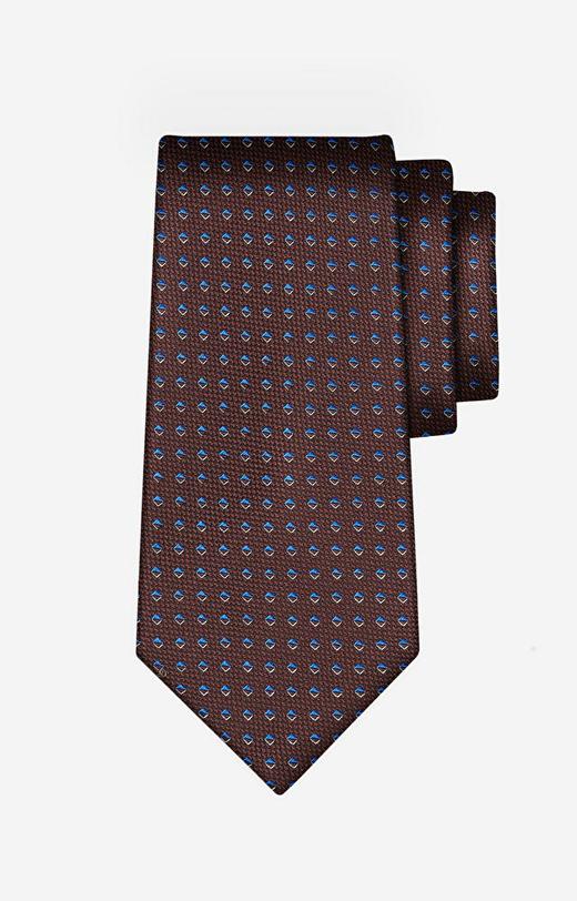 Brązowy krawat LAMBERT