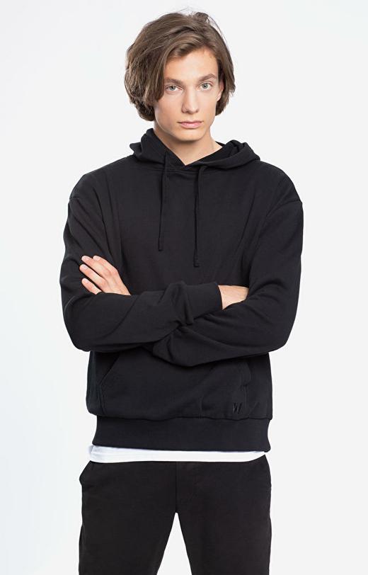 Czarna bluza męska WÓLCZANKA