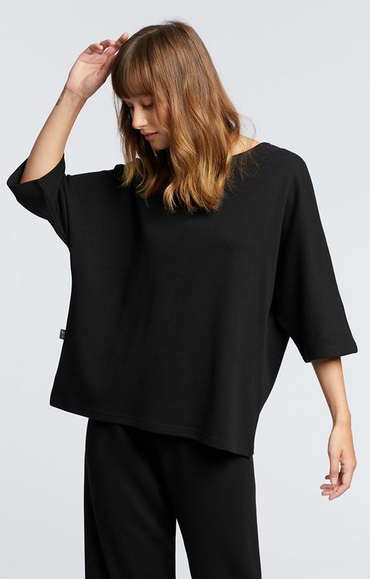 Bluza z kimonowym rękawem