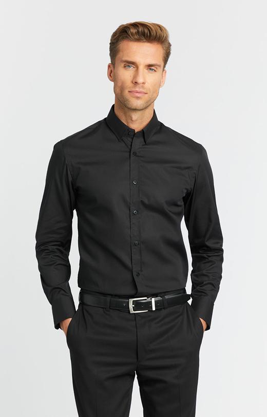 Koszula z bawełny LAMBERT