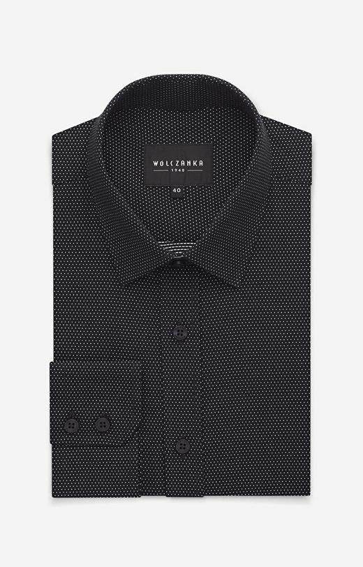 Czarna koszula WÓLCZANKA
