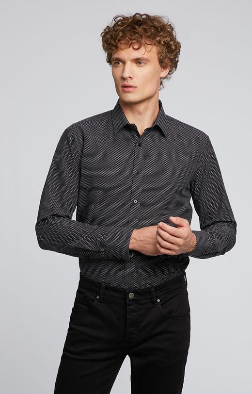 Bawełniana koszula w kropki