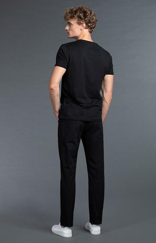 Czarne spodnie męskie WÓLCZANKA