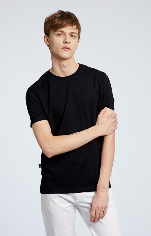 Czarny t-shirt męski WÓLCZANKA