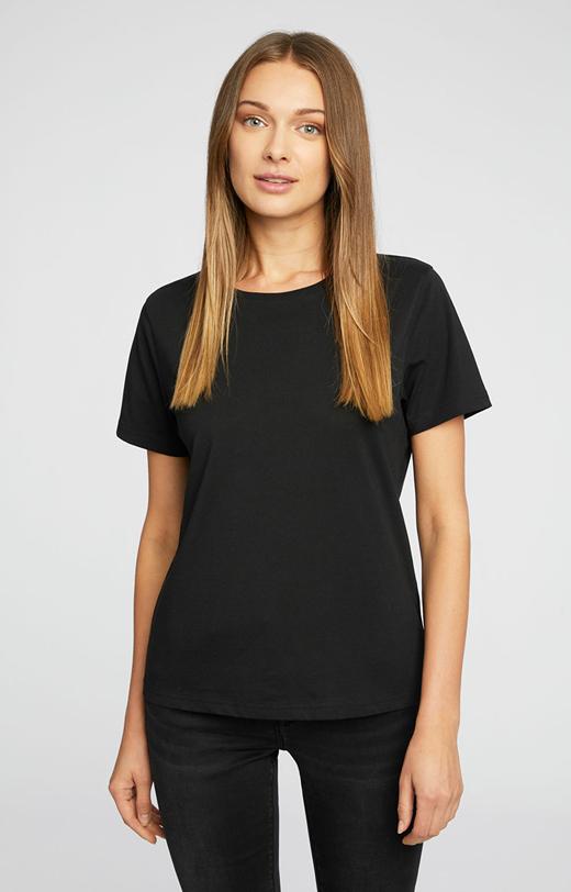 Czarny t-shirt WÓLCZANKA