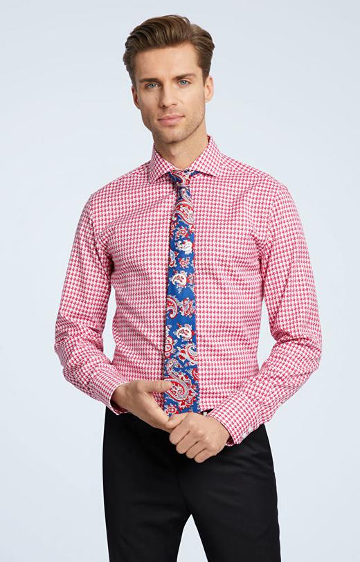 Koszula w pepitkę LAMBERT