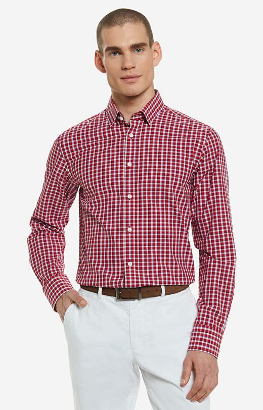Czerwona koszula LAMBERT
