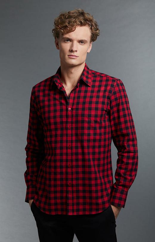 Czerwona koszula WÓLCZANKA