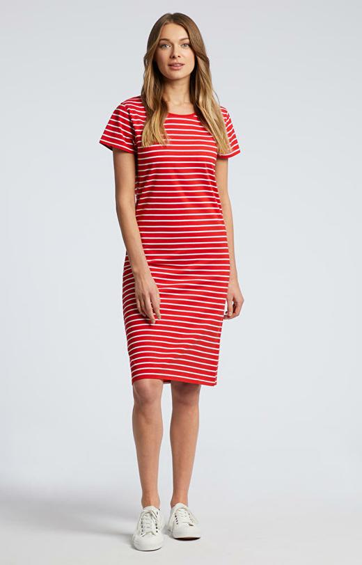 Czerwona sukienka WÓLCZANKA