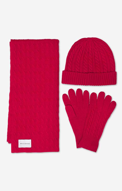 Czerwone rękawiczki WÓLCZANKA