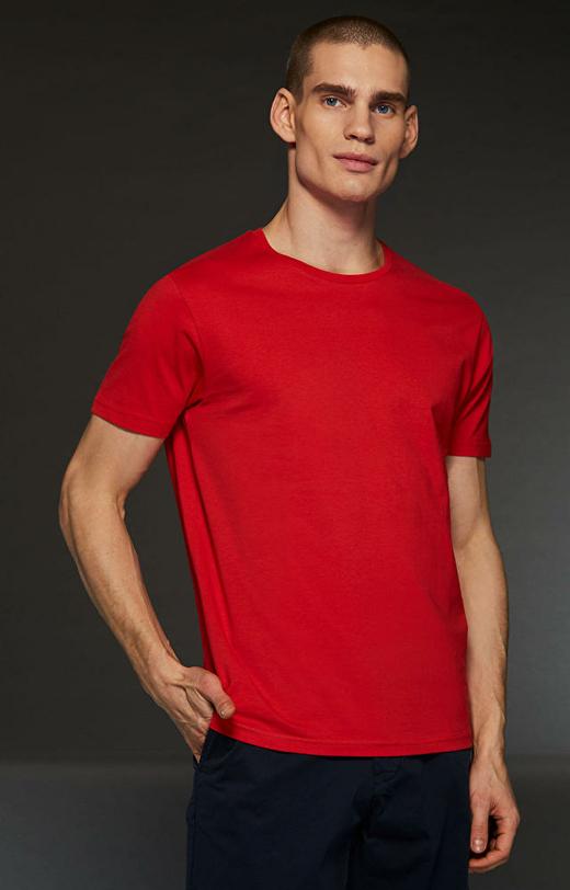 Czerwony t-shirt WÓLCZANKA