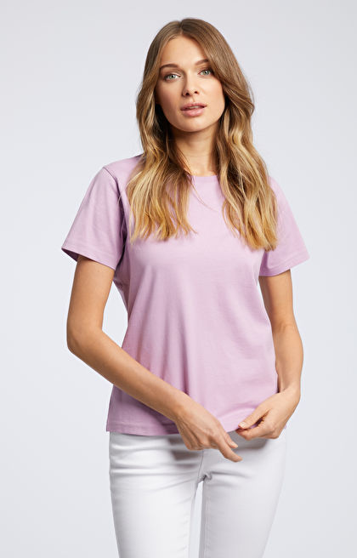 Fioletowy t-shirt WÓLCZANKA