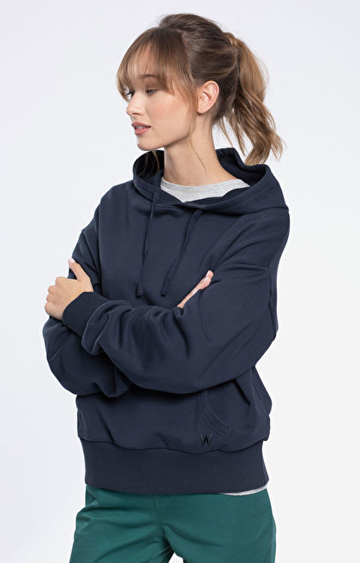 Granatowa bluza damska WÓLCZANKA