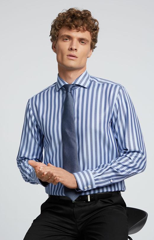 Koszula w paski LAMBERT