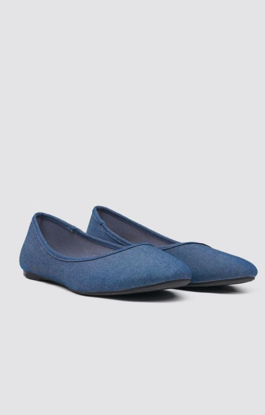 Granatowe buty WÓLCZANKA