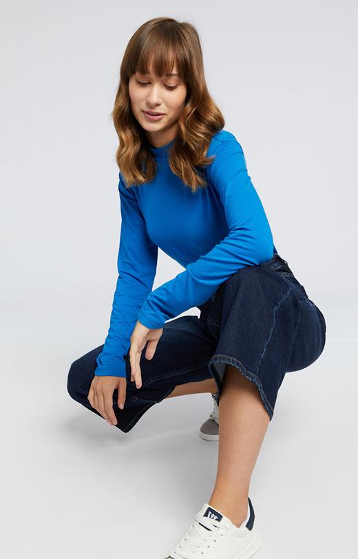 Jeansowe kuloty