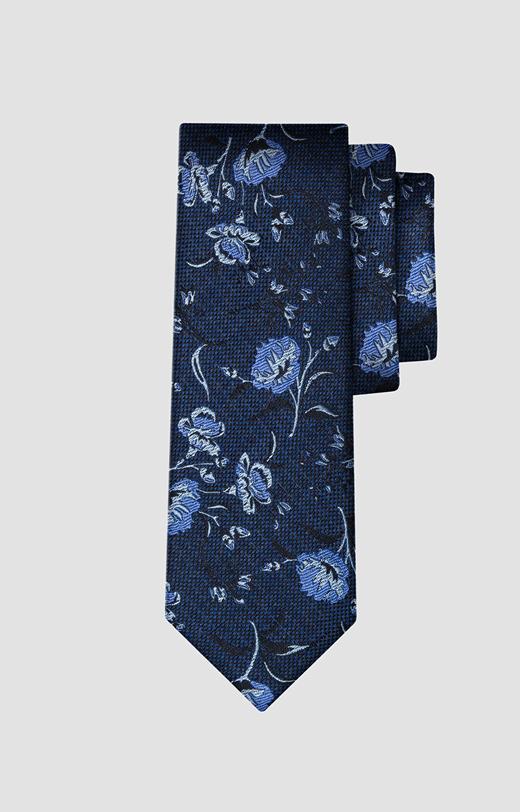 Krawat w kwiaty LAMBERT