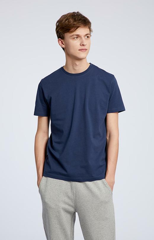 Granatowy t-shirt męski WÓLCZANKA
