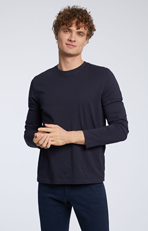 Grantowa koszulka z długim rękawem WÓLCZANKA