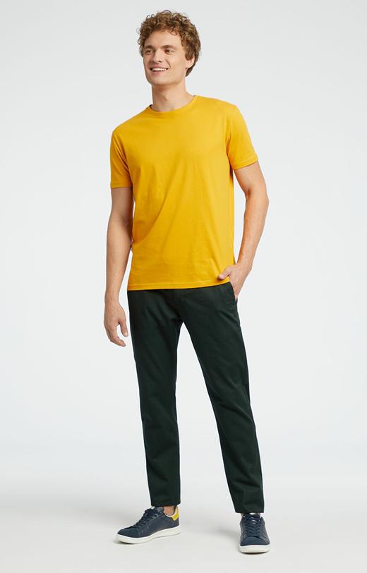 Chino w kolorze khaki