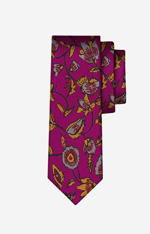 Fuksjowy krawat LAMBERT